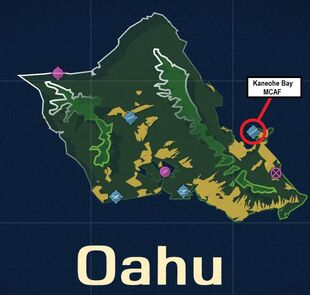 Kaneohe Bay MCAF Map