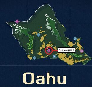 Ford Island NALF Map