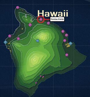 Honokaa Airstrip Map