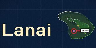 Lanai Airport Map