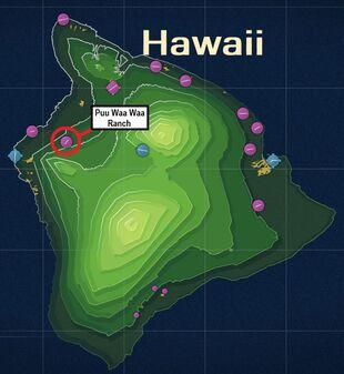 Puu Waa Waa Ranch Map