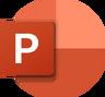 Microsoft PowerPoint 2019 Logo
