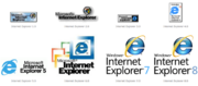 Ie9 logo history