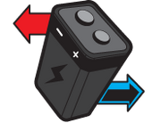 Mode capture battery icon
