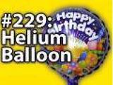 8x016 - Happy Birthday helium balloon