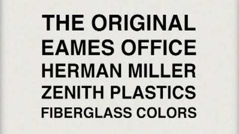 1950's Eames Fiberglass Chairs, The Color Slideshow..