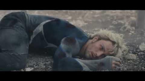 Avengers Age of Ultron - Quicksilver Death