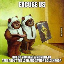 Ewok, mormons