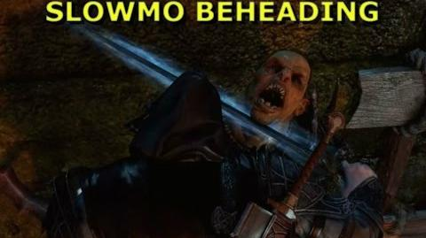 20 Awesome Slow Motion Orc Decapitations - Shadow of Mordor HD Gameplay