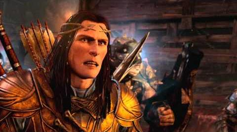Official Shadow of Mordor The Bright Lord DLC Trailer