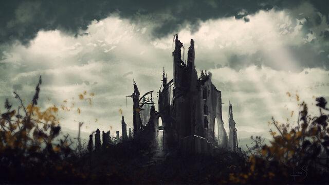File:Ruins of dol guldur by caoranach-d6v3fph.jpg