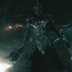 Саурон на фоне Роковой горы