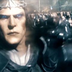 Келебримбор во главе своей армии