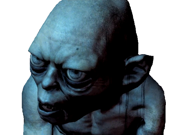 File:Gollum Render 2 (Middle-earth Shadow of Mordor).png