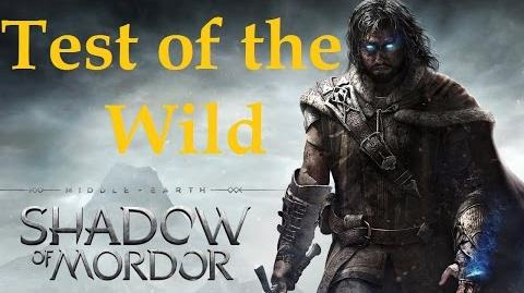 Middle Earth Shadow of Mordor - Test of The Wild and The Hunt is My Mistress Trophy 1080p HD