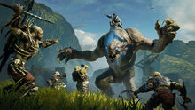 Middle-earth-shadow-of-mordor-graug-attack-screenshot