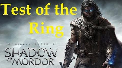 Middle Earth Shadow of Mordor - Test of the Ring Challenge and Lord of The Ring Trophy 1080p HD