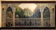 Rivendell balcony by filiusdracul