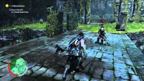 Shadow of Mordor - Quick berseker kill