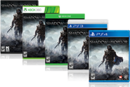 Shadow of Mordor box art set