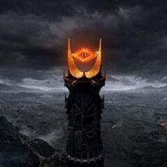 Вершина башни с глазом Саурона