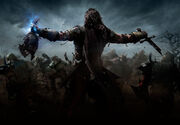Talion on battlefield