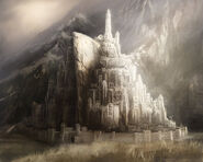 Minas tirith speed paint by direimpulse-d78ll47