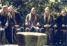 Elves at the Council of Elrond