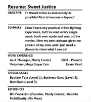 SweetJusticeResume