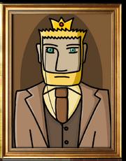 Woodgrain Gerbil Portrait (Kaiser)