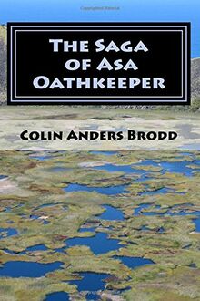 The Saga of Asa Oathkeeper Paperback Cover