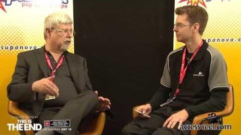 Supanova Perth 2013 Vlog 8 - Interview Raymond E. Feist