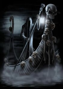 The ferryman of hell