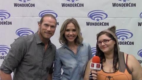 Midnight Texas - Jason Lewis & Arielle Kebbel - WonderCon 2017 yael.tv