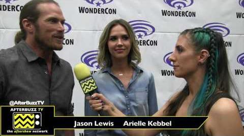 WonderCon 2017 'Midnight, Texas' Jason Lewis & Arielle Kebbel