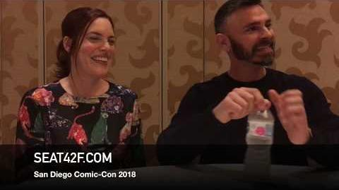 Nicole Synder Eric Charmelo MIDNIGHT TEXAS Comic Con Interview