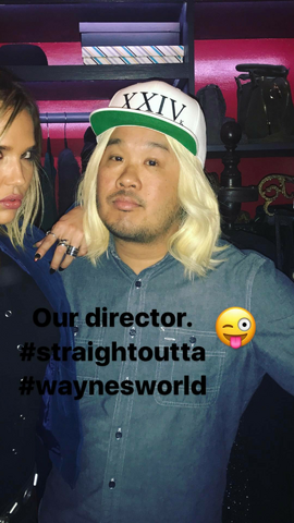 File:BTS Arielle Kebbel and director.png