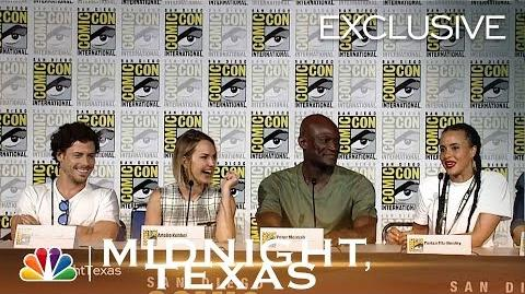 Midnight, Texas - Comic-Con Panel 2018 Highlights (Digital Exclusive)