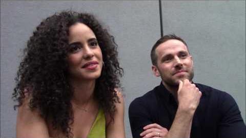 Midnight, Texas - Dylan Bruce, Parisa Fitz-Henley Interview (WonderCon)