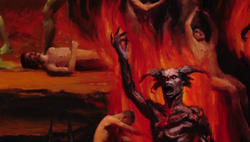 MTX 102-130-Demon Painting