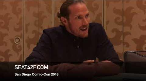 Jason Lewis MIDNIGHT TEXAS Comic Con Interview