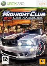 Midnight Club Los Angeles Coverart