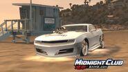 MCLA Chevrolet Camaro Concept Racing