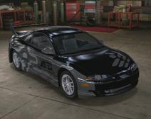 Mitsubishi Eclipse GSX carrocería ancha