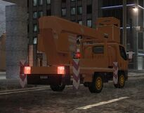 MC2 Mitsubishi Canter Repair Truck Rear