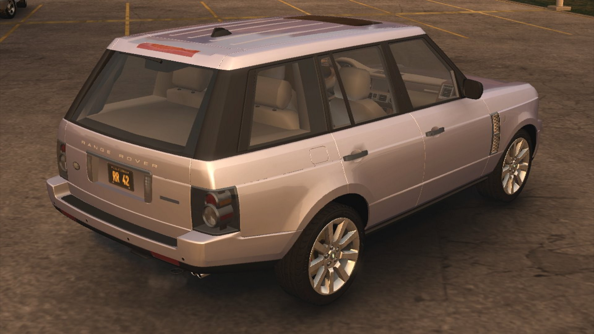 Image Range Rover 4 2 Supercharged rear
