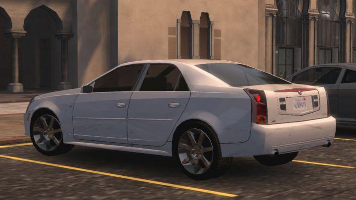 Image  MCLA Cadillac CTSV Traffic Car Rearjpg  Midnight Club