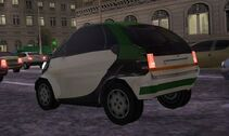 MC2 1998 Smart City Coupe Rear