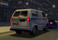 MCSR Dodge Ram Van Rear