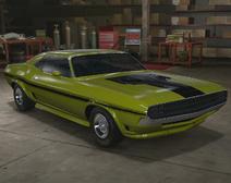 Dodge Challenger RT carrocería ancha